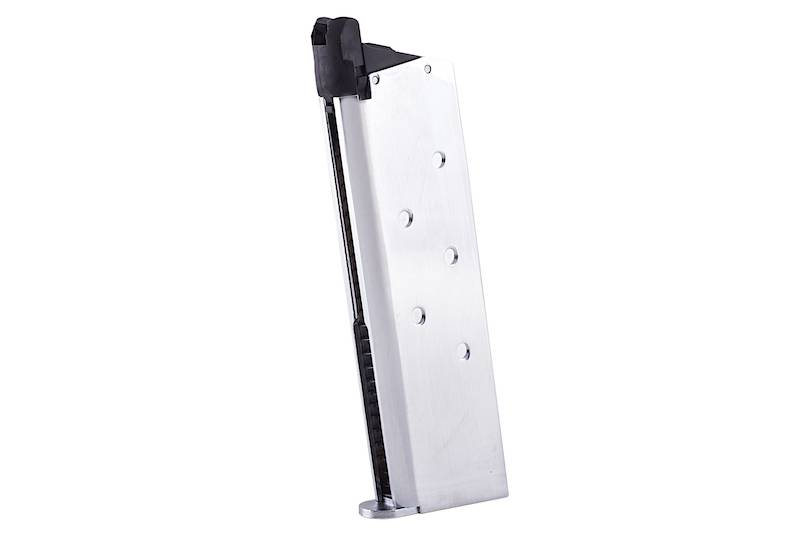 Tokyo Marui 26rds M1911A1 Government Chrome Stainless Magazine