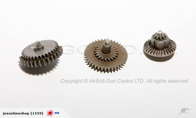 SRC 3 PCS Steel Gear Set For Vers. II/ III Gearbox